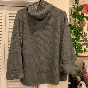 Lord and Taylor cowl neck chunky sweater